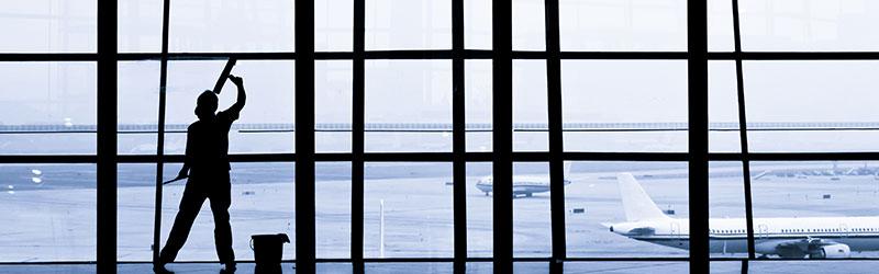 Glasbewassing - De Jong Schoonmaak en Bedrijfsdiensten B.V.